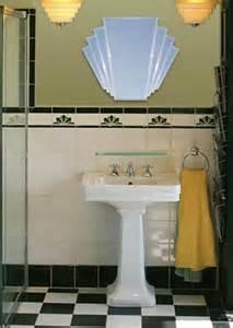 deco style bathroom mirrors the manhattan mirror co arlena