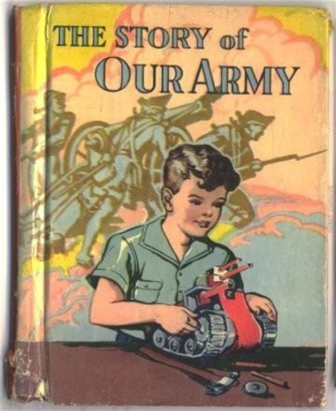 wwii picture books the story of our army vintage sandycreekcollectables