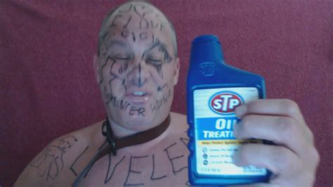 liveleak com shoenice drinks stp oil treatment petroleum