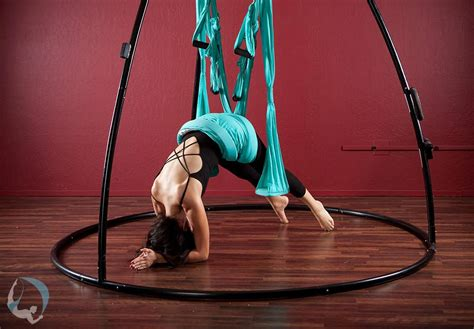 aerial swing back neck care swings trapeze stands since 2001
