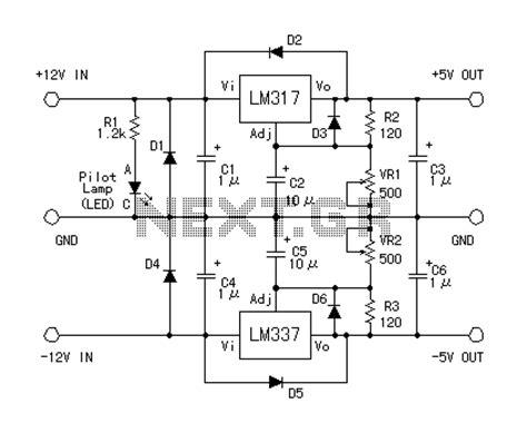Fluorescent L Driver by 500w Inverter Schematic L Schematic Wiring Diagram