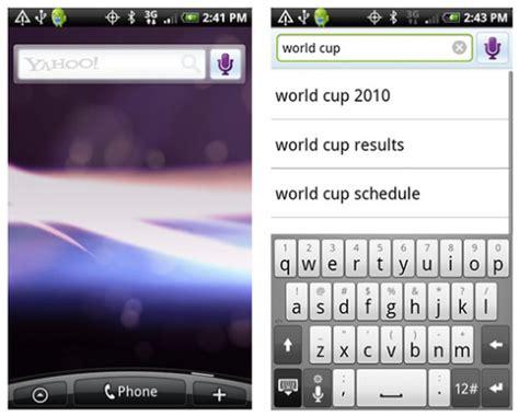 Yahoo Search Phone Get Yahoo On Your Andorid Phone