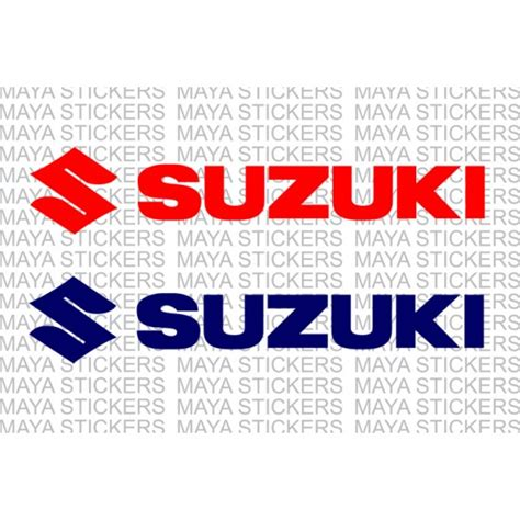 Suzuki Sticker suzuki logo decal stickers for bikes cars laptops and helmet
