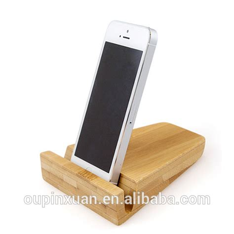 mobile phone desk stand 100 bois de bambou multi dispositif de station de