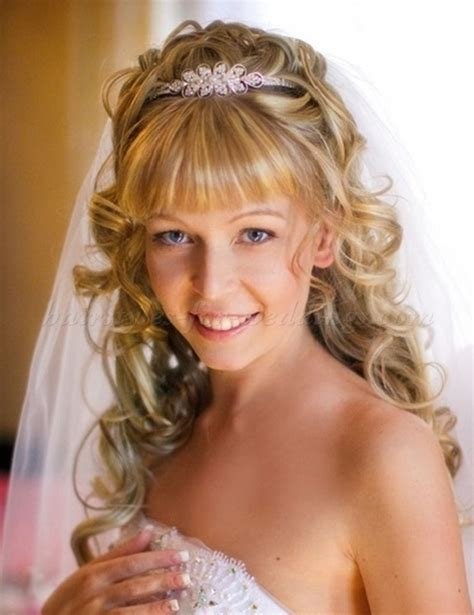 Wedding Hairstyles For Medium Hair With Bangs by Wedding Updos With Bangs Bridal Hairstyle With Bangs
