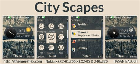 outlights live theme for nokia x2 00 c2 01 240 215 320 digital city theme for nokia x2 00 c2 01 2700 206 x2