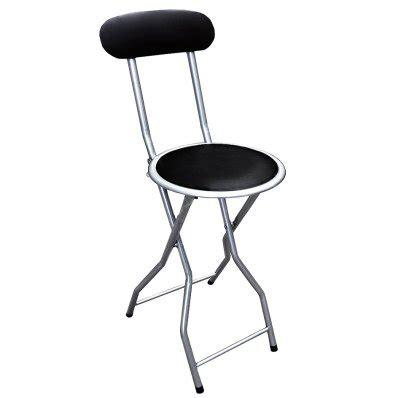 cheyenne home furnishings folding bar stool black padded folding high chair breakfast kitchen bar