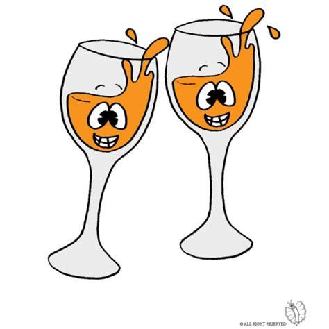 immagini bicchieri brindisi disegno di brindisi a colori per bambini