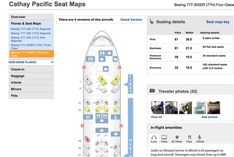 cathay pacific seat map do eat the caviar in class part uno of dos the