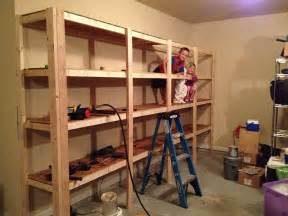 how to build sturdy garage shelves 171 home improvement garage wall shelving ideas designs