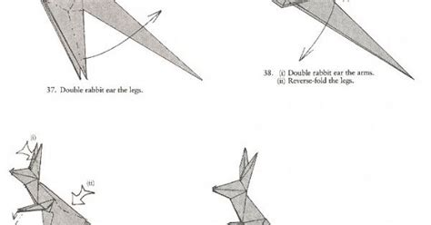 How To Make An Origami Kangaroo - origami kangaroo diagram driverlayer search engine