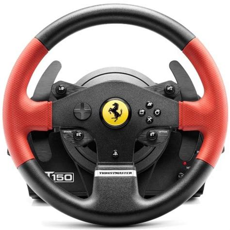 volante thrustmaster ps4 volante gaming pc ps4 ps3 thrustmaster t150