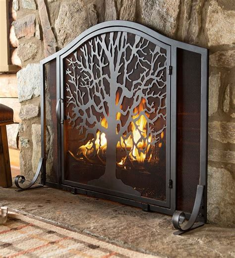 25  best ideas about Fireplace screens with doors on