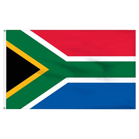 Engraved Jewelry South Africa 3ft X 5ft Nylon Flag With Pole Hem Only Banner