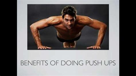 benefits of doing push ups benefits of doing push ups