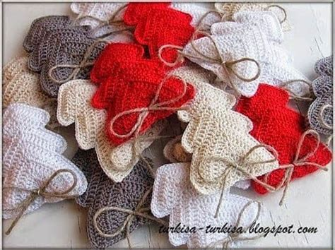 patron para hacer arbol de navidad a crochet