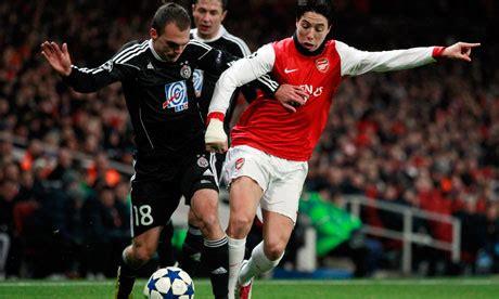 Arsenal Belgrade   match report arsenal 3 partizan belgrade 1 footie co za