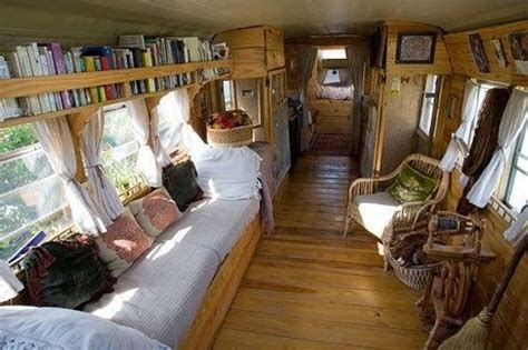 school to rv conversion by blissleaf remodeled