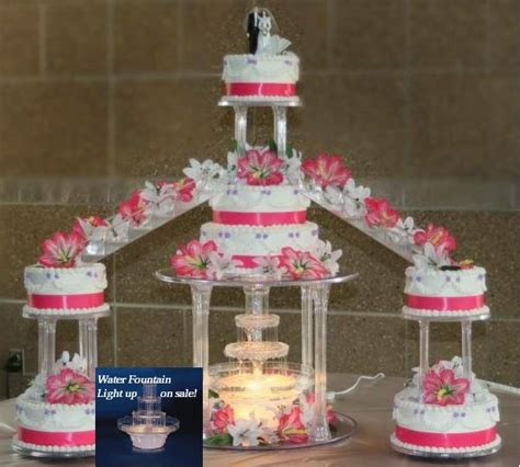 Wedding Cake With Stairs by Quinceanera Cakes Fountains Stairs Wedding Staircase