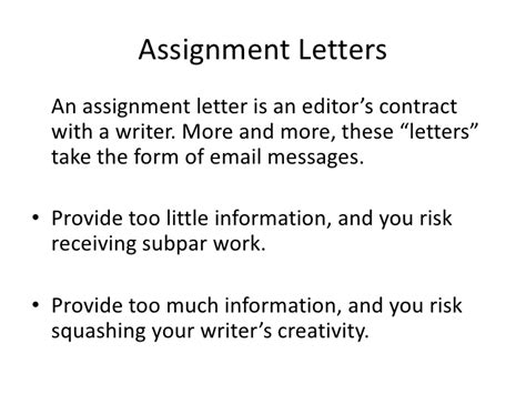 Assignment Letter Of Credit Assignment Letter Irrelevant Assignments Assigned To The Computer It Teachers Irrelevant