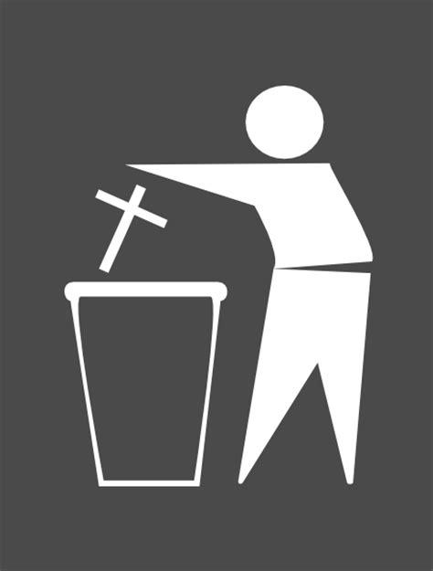 Trash Religion Clip Art at Clker.com - vector clip art
