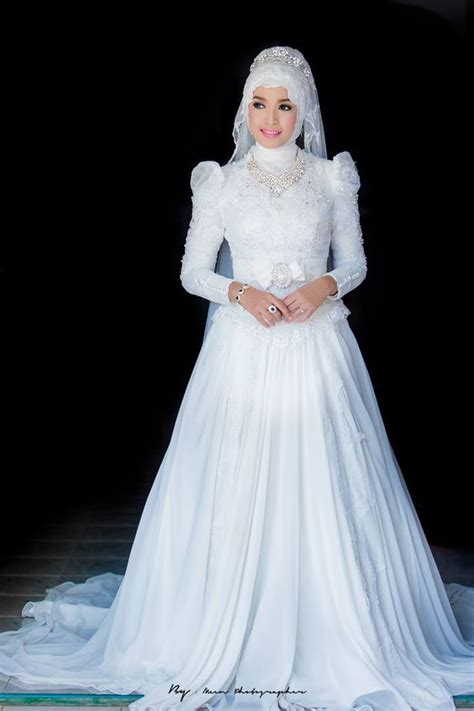Muslim Wedding Dresses Image collections   Wedding Dress, Decoration And Refrence