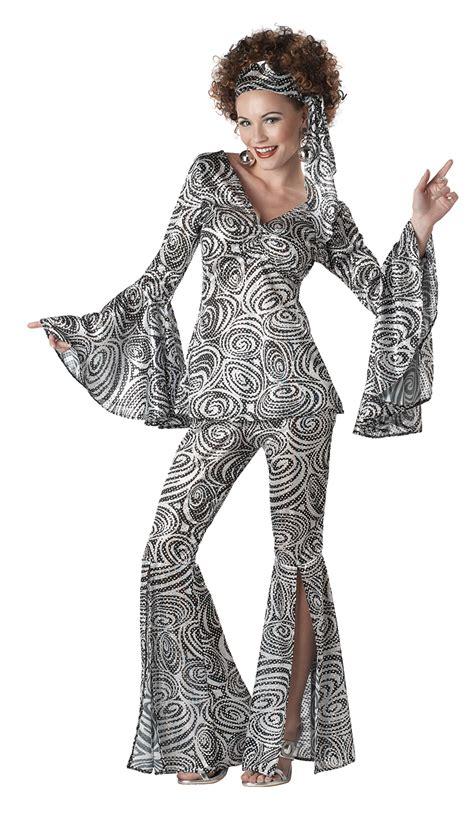 foxy 70 s hippy retro disco costume ebay