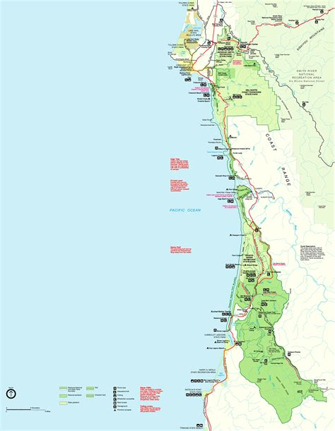 california map sequoia national park redwood national park map california toursmaps