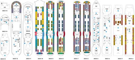 royal caribbean floor plan navigator of the seas deck plans cruiseind
