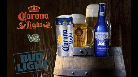 light vs bud light corona light vs bud light