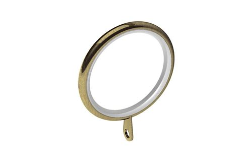 curtain rings brass swish 28mm elements curtain pole rings antique brass in