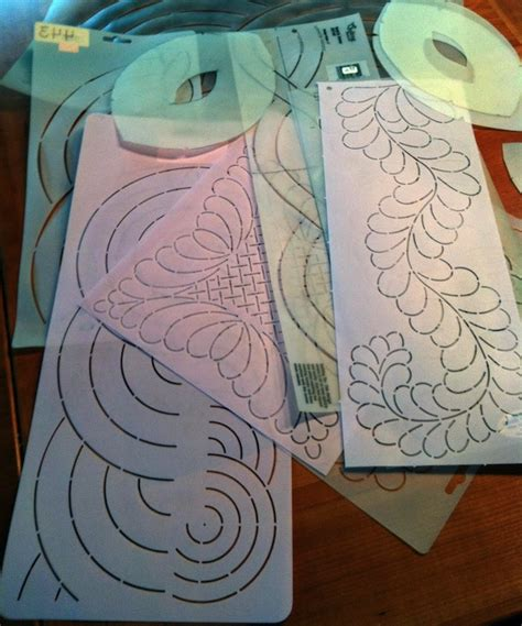 Using Hand Quilting Stencils Tips Ideas How To Use Quilting Templates
