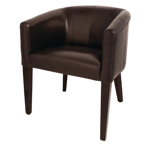 chaise simili cuir marron fauteuil simili cuir marron gastromastro sas