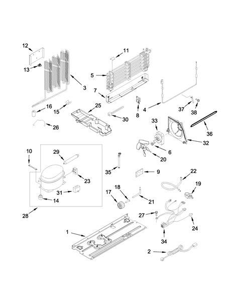 gladiator garfxxyk top mount refrigerator parts