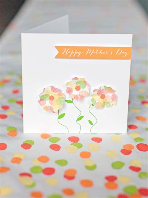 handmade mothers day card templates printable flower garden s day card hgtv