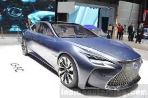 lexus lf fc front three quarter concept at the 2016 geneva