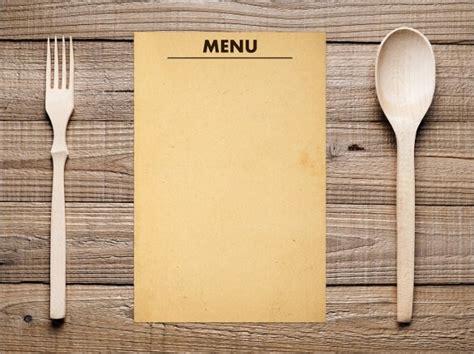 free blank menu templates blank menu template free premium templates regarding