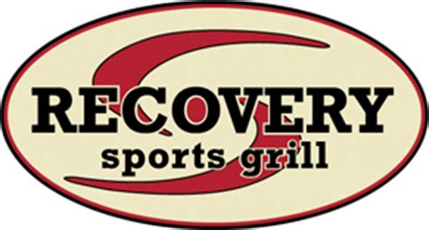 recovery room menu recovery sports bar grill restaurants