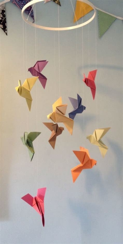 origami mobile free coloring pages 1000 ideas about origami mobile on
