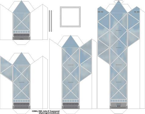 bank of china structure skyscraper paper models skyscrapercity