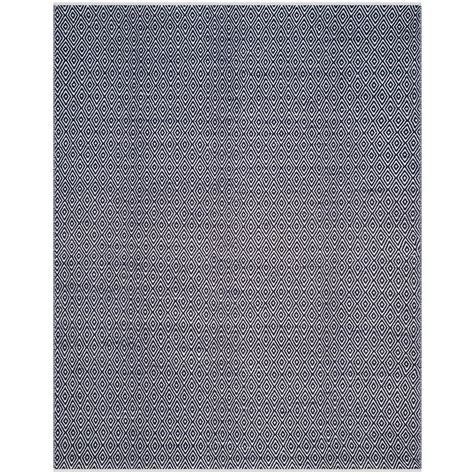 navy cotton rug nuloom herringbone cotton navy 9 ft x 12 ft area rug hmco4a 9012 the home depot