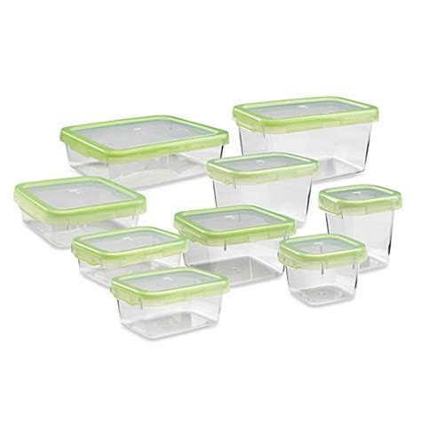 bed bath and beyond containers oxo good grips 174 green locktop containers bed bath beyond