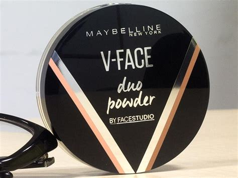 Maybelline V Powder product of the day maybelline v duo powder review