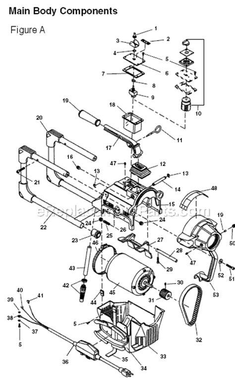 Ridgid K 60SP Parts List and Diagram : eReplacementParts.com