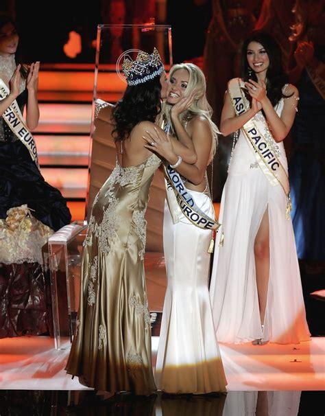 Tatana Kucharova Miss Crowned Miss World 2006 Pageant 2 by Tatana Kucharova Photos Photos 56th Miss World 2006
