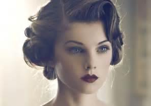 hochsteckfrisurenen vintage vintage hairstyles and retro hair looks for wardrobelooks