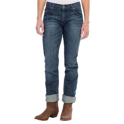 ladies jeans rock 47 by wrangler ladies color wings jeans wrangler rock 47 boyfriend fit jeans for women save 57