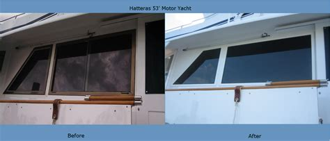 lookout boat windows  solid solution   leaky problem