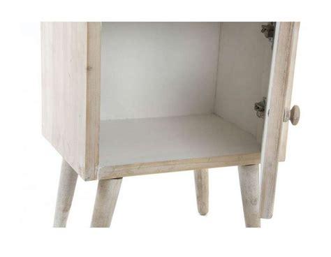 table de nuit miroir table de nuit miroir et bois clair scandinave pas chere
