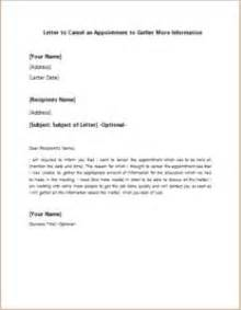 Apology Letter Poor Quality Product Letter To Cancel An Appointment To Gather More Information At Http Writeletter2